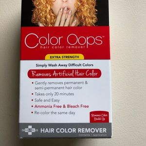 Other - NEW Color Oops hair color remover